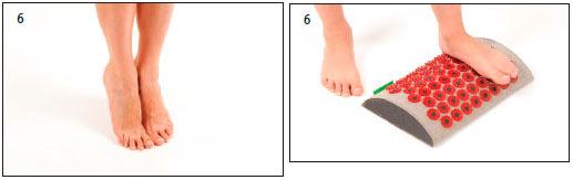Аппликатор Кузнецова при плоскостопии - Также выполняем упражнение без аппликатора Кузнецова. Поднимаемся и опускаемся на носочки и просто ходим на носочках.