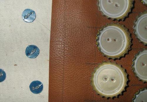 Аппликатор Кузнецова - В качестве элементов можно использовать крышечки от газировки и прохладительных напитков.