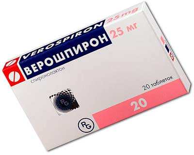 Верошпирон (спиронолактон)