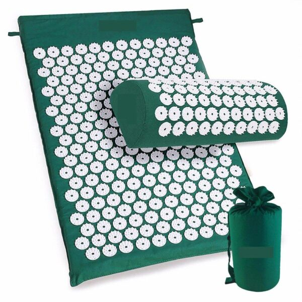 Аппликатор Кузнецова (зелёный) + подушка + чехол
