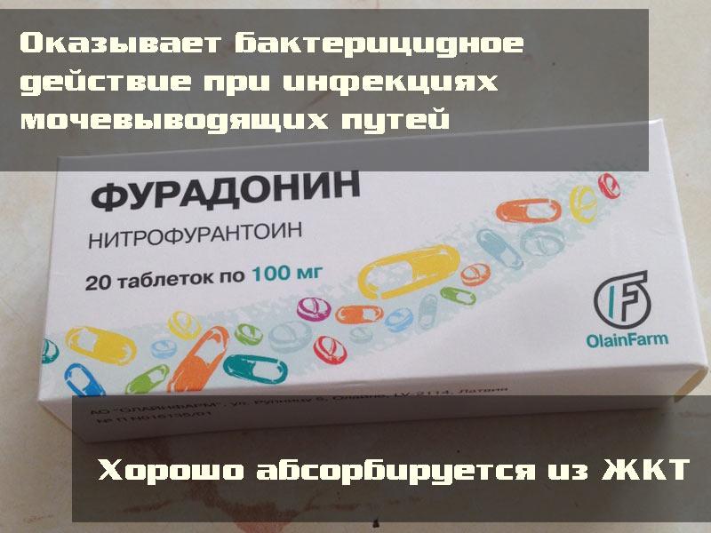 Препарат «Фурадонин»